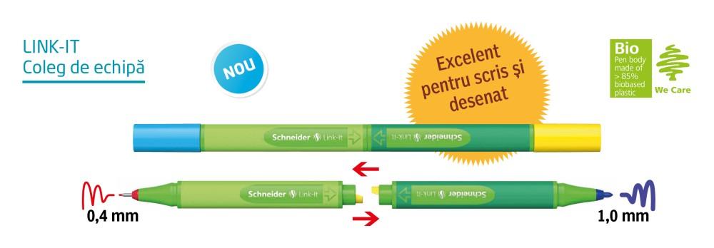 Link-It - Linere gemene, ideale pentru combinații de scris și desenat!